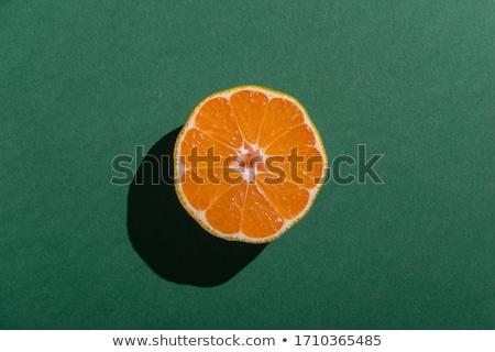 Mandarines background. Stock photo © snyfer