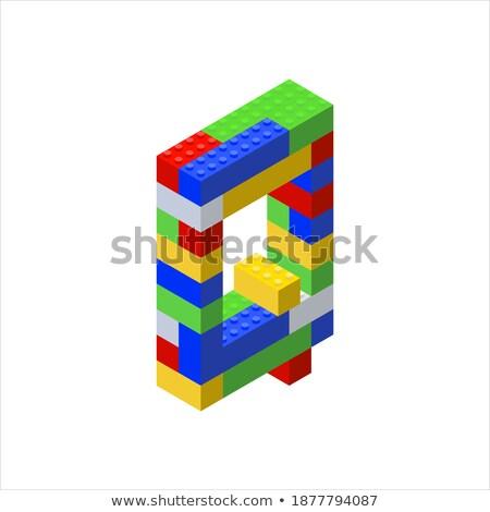 Letter Q on Childrens Alphabet Block. Stock photo © tashatuvango