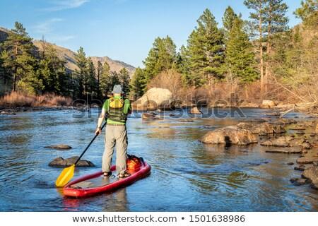 Poudre River Canyon Stock photo © PixelsAway