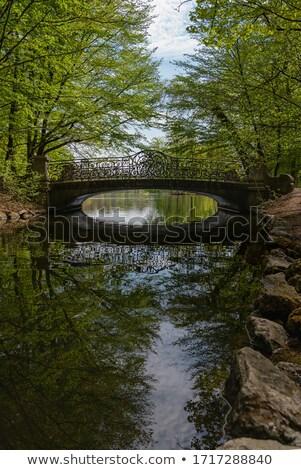 пути замок Мюнхен Германия изображение Nice Сток-фото © magann