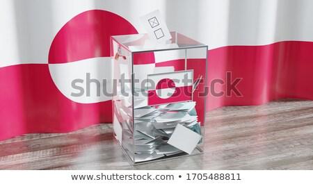 ballot box greenland stock photo © ustofre9