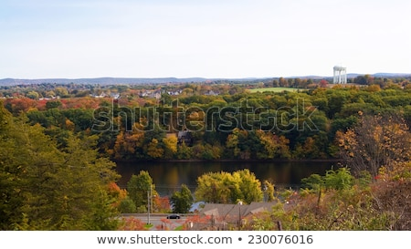 Ludlow Massachusetts Scenic Overlook Stock photo © arenacreative