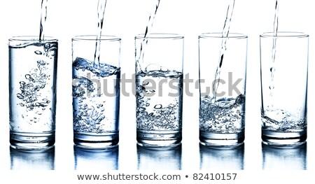 ガラス · 新鮮な · ドリンク · 水 · 人の手 - ストックフォト © master1305