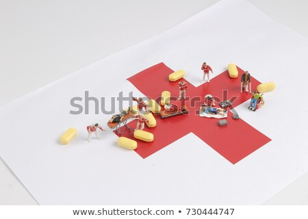 Rescue Team Providing First Aid. Drug overdose concept. Stock photo © Kirill_M