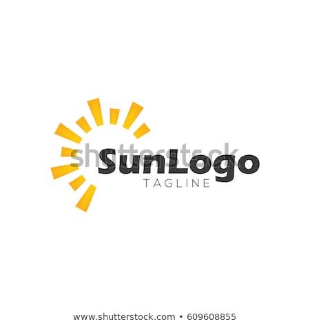 Logos for sun tanning  Stock photo © shawlinmohd