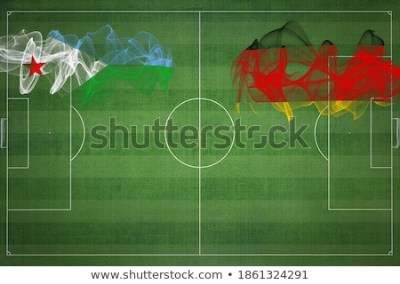 Germany and Djibouti Flags Stock photo © Istanbul2009