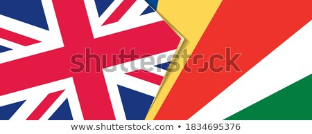 United Kingdom and Seychelles Flags Stock photo © Istanbul2009