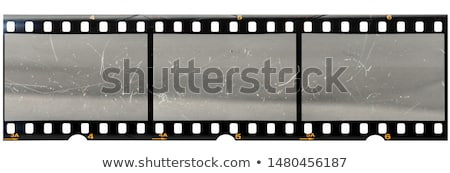 bağbozumu · film · şeridi · görüntü · soyut · film · dizayn - stok fotoğraf © magann