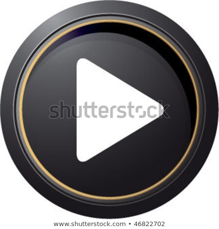 rounded icons with movie players stock photo © bluering