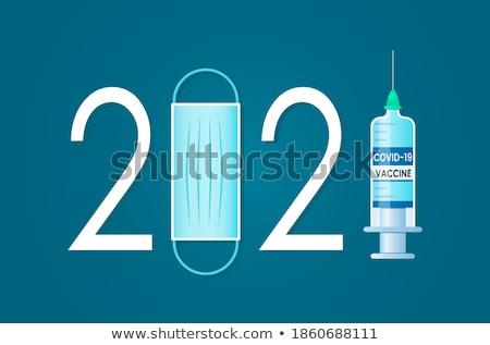 Médicaux vaccin illustration blanche bouteille graphique Photo stock © bluering