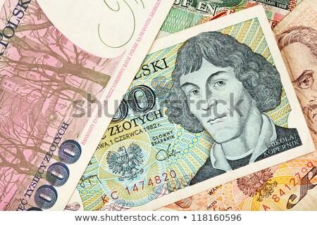 Old Polish banknotes money Stock photo © Peteer