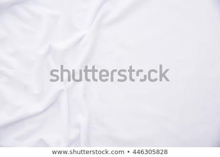 Crumpled bed sheets texture Stock photo © stevanovicigor
