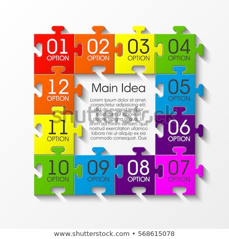 jerarquía · 3D · tabla · empresa · organización - foto stock © orson