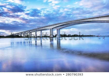 gateway bridge motorway in brisbane stock photo © artistrobd
