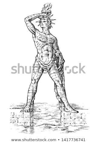 The Colossus of Rhodes Stock photo © Stocksnapper
