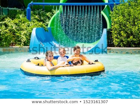 family holiday at the park stock photo © bluering