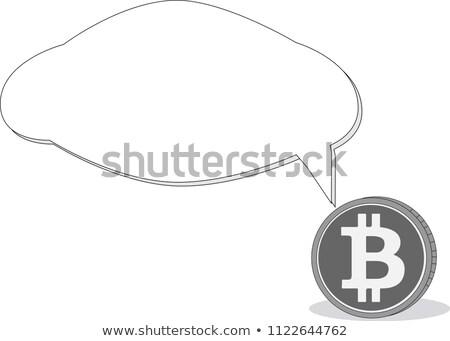 Troca moedas logotipo mercado emblema negócio Foto stock © tashatuvango