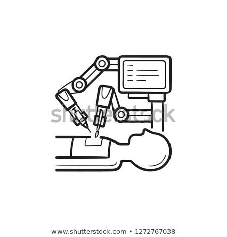 orvostudomány · egészségügy · ipar · absztrakt · orvosi · háttér - stock fotó © rastudio