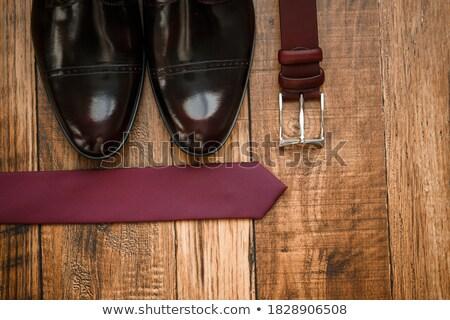 set of men's accessories groom wedding day preparation Stock photo © ruslanshramko