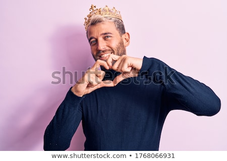 heart wearing a crown stock photo © bennerdesign