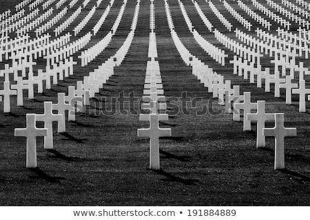 кладбища · черный · старые · лес · крест · фон - Сток-фото © lichtmeister