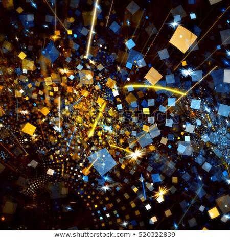 Abstract confetti colorato neon stile Foto d'archivio © SArts