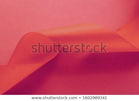 Abstract mătase panglică trandafir exclusiv Imagine de stoc © Anneleven