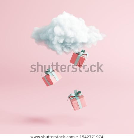 Festive background with colorful gift presents Stock photo © Melnyk