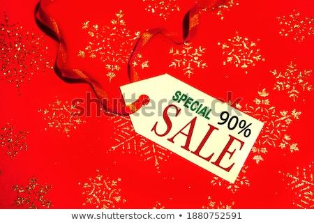 Por cento desconto venda bens redução Foto stock © robuart