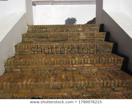 klinker brick steps stock photo © bobkeenan
