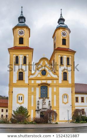 Kolostor Németország épület utazás torony vallás Stock fotó © borisb17