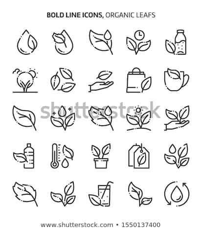 Seed bag. Pixel icon. Gardening vector illustration Stock photo © Imaagio