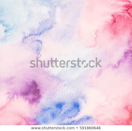 Mano verniciato acquerello macchia texture design Foto d'archivio © SArts