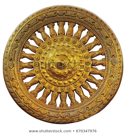Buddhist Wheel of the Law Stock photo © dmitry_rukhlenko
