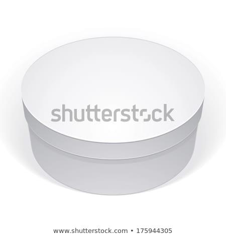 Tort pălărie pachet ambalaje vector Imagine de stoc © pikepicture