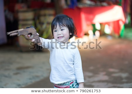 siyah · revolver · tabanca · hedef · yalıtılmış · beyaz - stok fotoğraf © carenas1