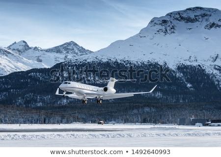 Jet landing Stock photo © RTimages