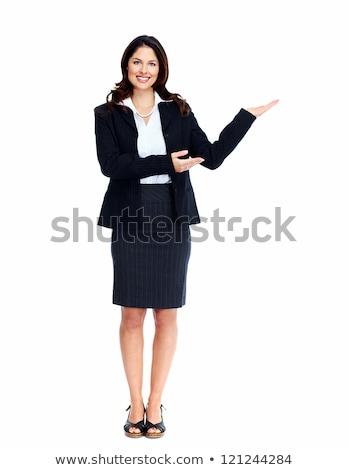 деловой · женщины · копия · пространства · изолированный · белый · бизнеса - Сток-фото © Kurhan