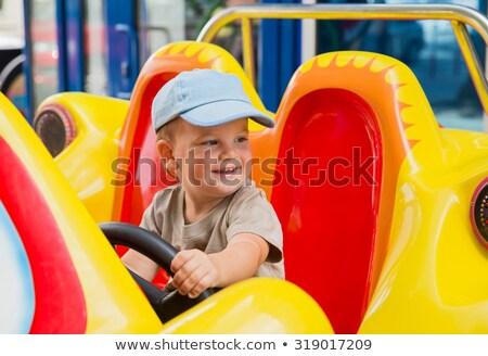 活発な · 少年 · 演奏 · 野球 · 公園 - ストックフォト © wavebreak_media