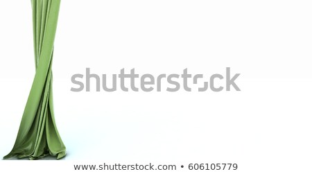 silk drape, isolated on white  Stock photo © REDPIXEL