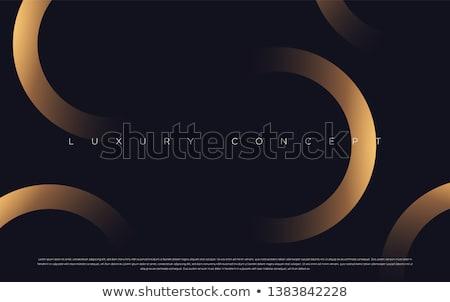 Prémium arany szöveg fekete webes gomb bolt Stock fotó © marinini