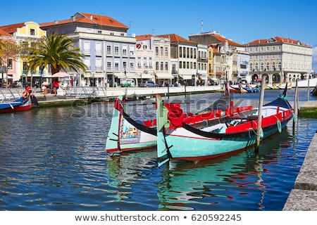 Aveiro, Portugal Stock photo © dinozzaver