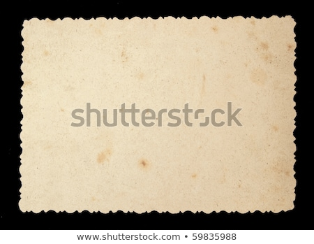 Oldal régi fotó nyomtatott dekoratív keret textúra Stock fotó © Taigi