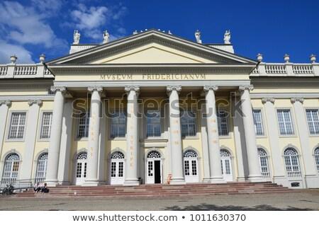 музее исторический город искусства синий замок Сток-фото © elxeneize
