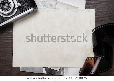 blank photo frames for reversal film stock photo © marekusz