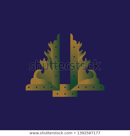 3D 文字 フラグ モーリタニア 孤立した ストックフォト © Kirill_M