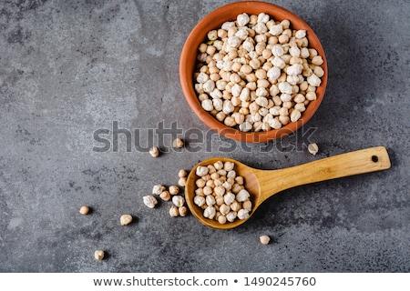 civciv · bezelye · hizmet · ahşap · çanak · gıda - stok fotoğraf © raphotos