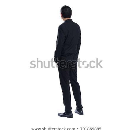 Empresário isolado em pé Foto stock © dgilder