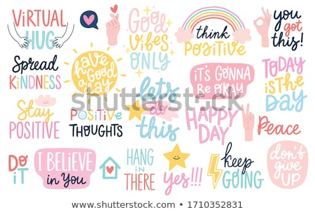 Positivity Stock photo © pressmaster