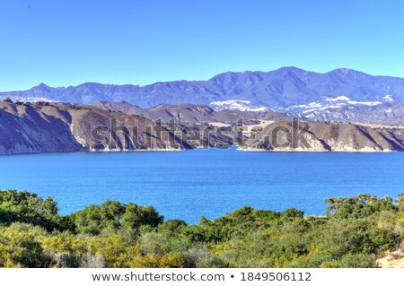 Cachuma Mountains Stock photo © hlehnerer